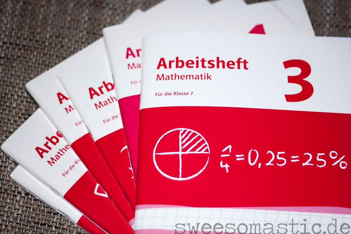 Arbeitsheft Mathematik 1 bis 6