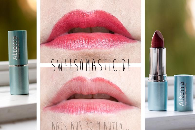 Alterra Lippenstift aus der Schön für mich Box Juli 2014