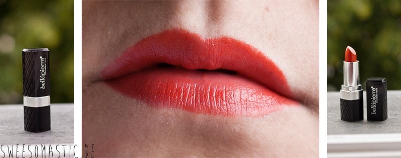 Bellapierre Mineral Lipstick in der Farbe Mandarina