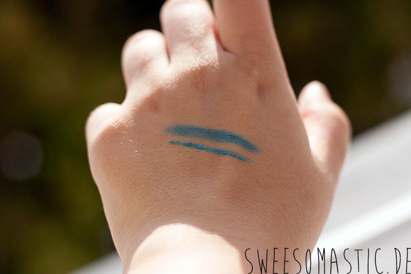 Eyeshadow Stick und Eyeliner aus der Aquatix Trend Edition von Essence