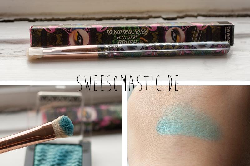 Teeez Trend Cosmetics Lidschattenpinsel aus der Glossybox Juli 2014: Summer Holiday